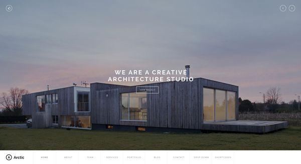 Arctic Studio by Arian Selimaj, via Behance