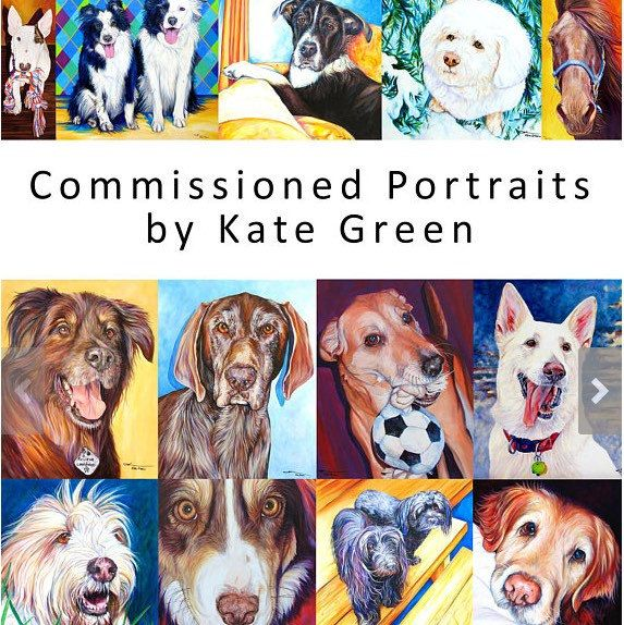 I have been a dog and horse artist for years, creating hundreds of portraits for clients world-wide. I am very happy to now provide an Etsy listing for custom acrylic portrait paintings of your own beautiful animals.