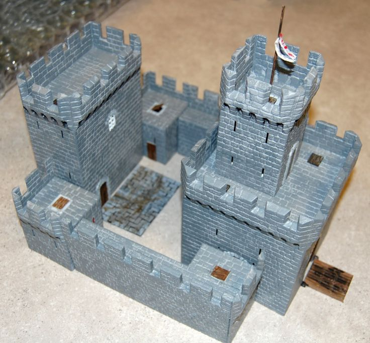 medieval castle models - Google Search