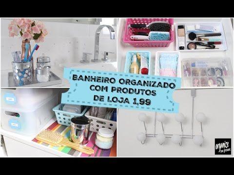 Organize sem Frescuras | Rafaela Oliveira » Arquivos  » Banheiro Organizado com Produtos TOP de Lojas de Utilidades (1,99)