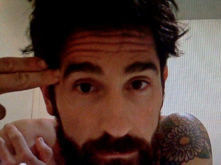 Aaron Kaufman, imagine running your fingers through that beastly man beard.
