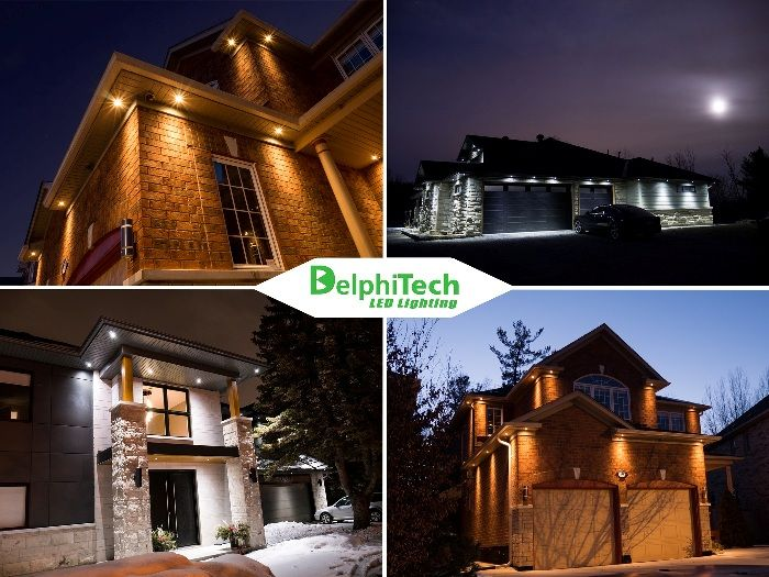 Delphitech Residential Outdoor Led Lights Factory Direct Online Design Amazing Results D Exterior Lighting Outdoor Recessed Lighting Exterior House Lights