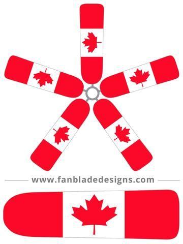 ceiling fan clipart. canadian flag ceiling fan clipart i