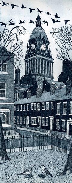 """Leeds Flyover"" by Janis Goodman"