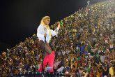Ludmilla no desfile da Unidos da Tijuca, no Carnaval do Rio de Janeiro