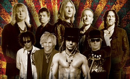 TAMPA, FL - Def Leppard and Poison – Tampa Bay Times Forum  Def Leppard and Poison Concert on June 30, at 7 p.m. (Up to 58% Off). Two Seating Options Available.