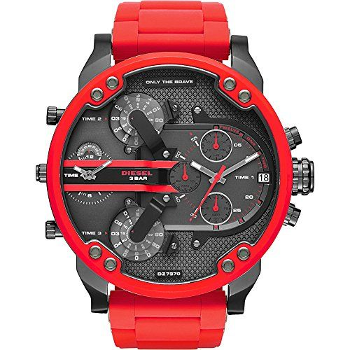 17 best ideas about mens designer watches mens cool diesel watches mr daddy 2 0 two hand stainless steel watch · fine watchesmen s watcheswatches on mens designer