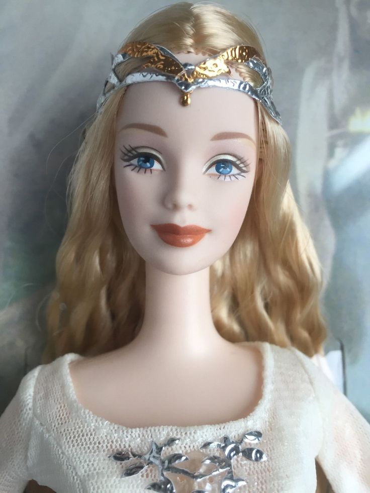 LORD OF THE RINGS LOTR GALADRIEL BARBIE COLLECTOR DOLL 2004 SEALED MATTEL NRFB