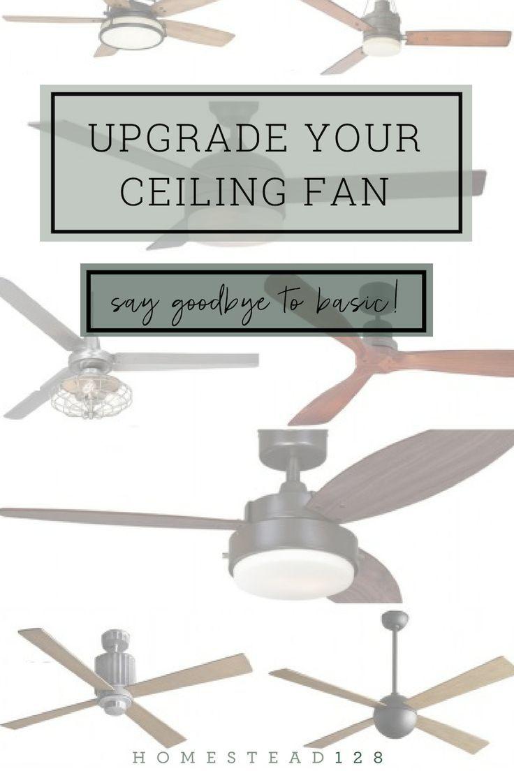 11 Stylish Ceiling Fans That Are Farmhouse Modern Ceiling Fan