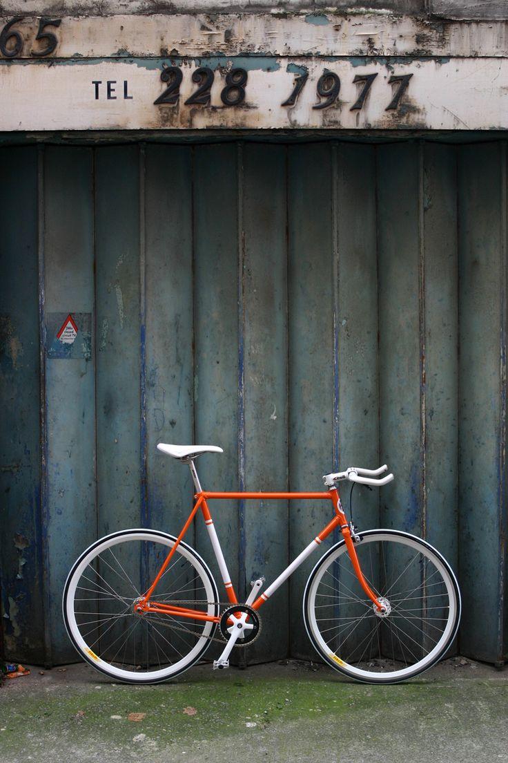 VINTAGE BICYCLE - FALCON - BRIGHT ORANGE