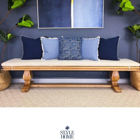 'ST REGIS' Oak Bench Seat