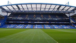 Stadion, Fotbal, Londýn, Anglie, Chelsea
