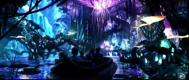 Así se ve el nuevo parque temático de Disney inspirado en Avatar que abrirá sus puertas en 2017