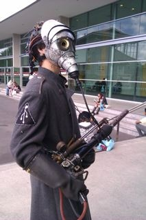 Steampunk lad I met at Armageddon Expo, Auckland (my picture)
