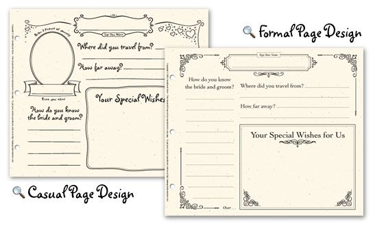 Guest Book Printable Sheets \u2013 Best Cars 2018