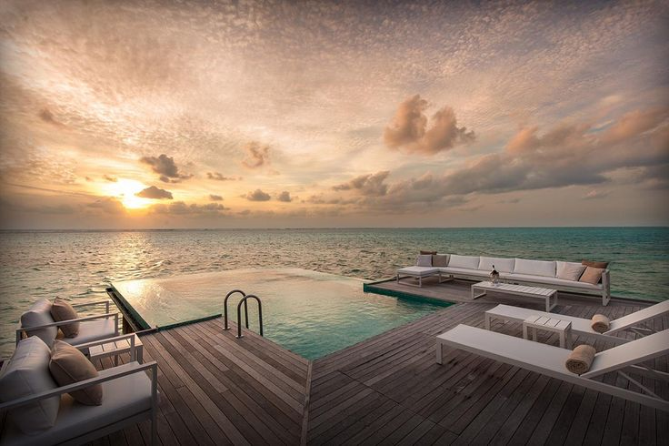 17 best los hoteles flotantes m s impresionantes del for Conrad maldives rangali island resort islas maldivas