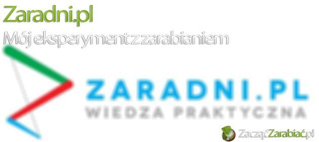 Eksperyment z zaradni.pl | http://www.zaczac-zarabiac.pl/eksperyment-z-zaradni-pl/