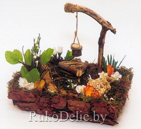 Вегетативная флористическая композиция ''Родной уголок''