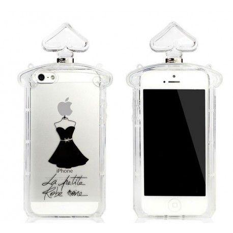 Bouteille de Parfum La Robe Noire - coque iPhone 4 #WaahoooFr