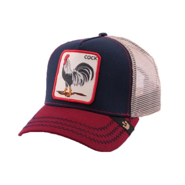 Casquette Trucker Goorin Bros American Rooster Marine #nouveaute @goorinbros sur Hatshowroom.com #bonplan #mode