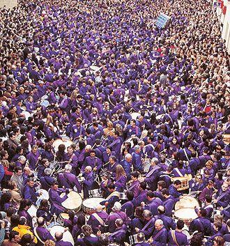 Drums. Calanda, Teruel (Spain)