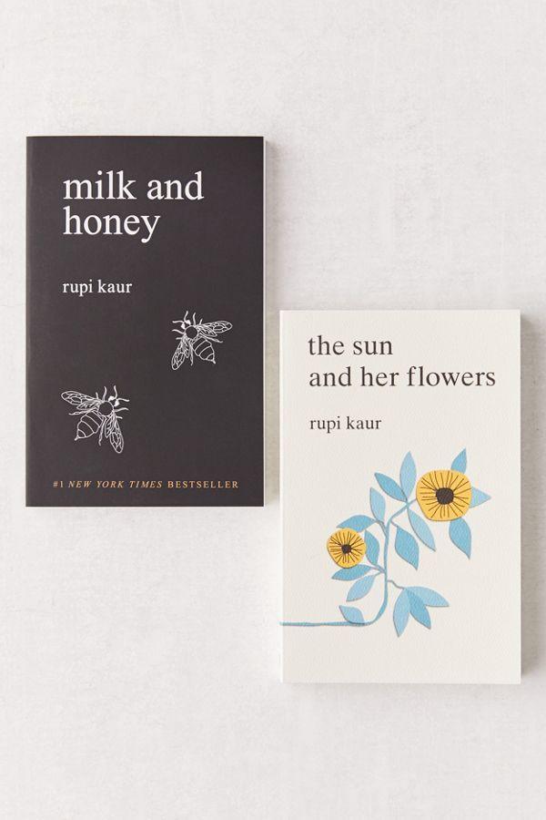 The Rupi Kaur Boxed Set By Rupi Kaur In 2020 Best Poetry Books Milk And Honey Book Rupi Kaur