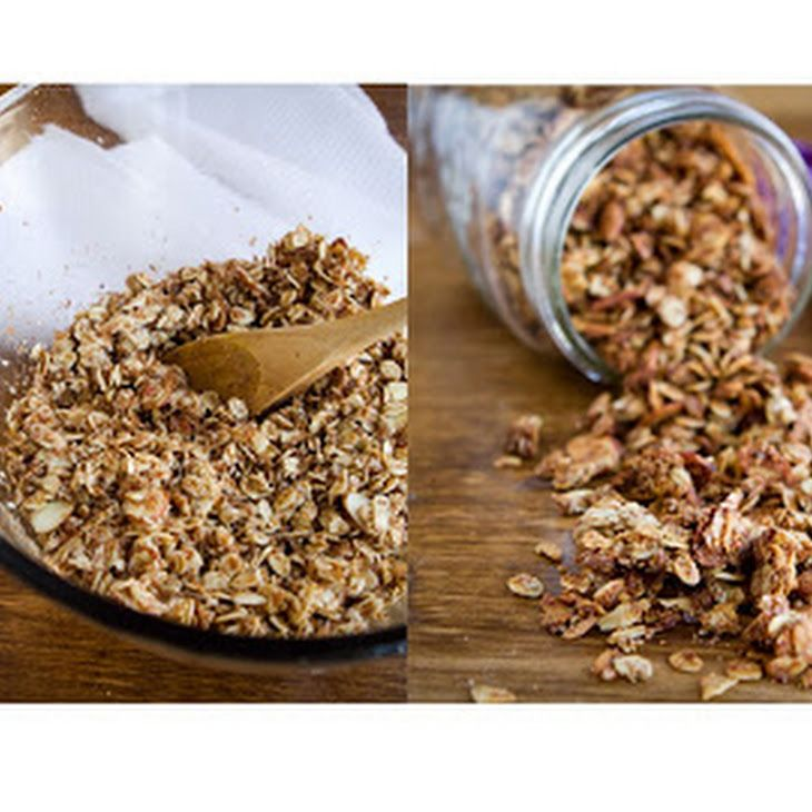 Coconut Cinnamon Granola Recipe | Snacks | Pinterest