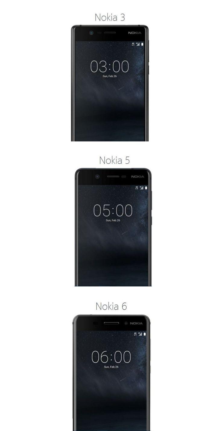 Nokia 3, Nokia 5, Nokia 6 Launched in India