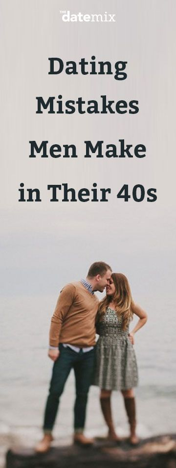 The dating mistakes every man over 40 needs to know about.