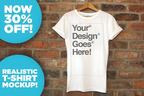 [-30%]Clothing Brand T-Shirt Mockups ~ Product Mockups on Creative Market