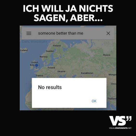 Visual Statements® Ich will ja nichts sagen, aber… Sprüche/ Zitate/ Quotes/Spaß/ lustig / witzig / Fun