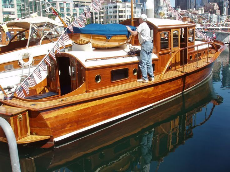 Classic Wooden Cruisers for Sale | Classic wooden boat for sale