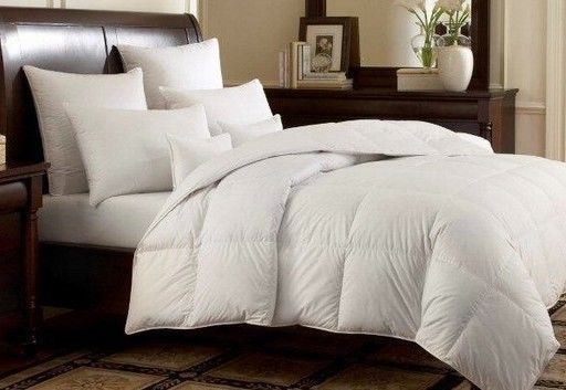Goose Down Alternative Reversible White Comforter Duvet Insert Twin Queen King