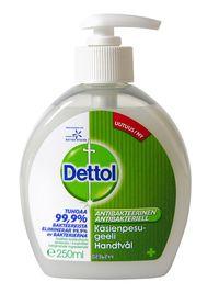Dettol antibakteerinen käsienpesugeeli 250 ml   3,45€