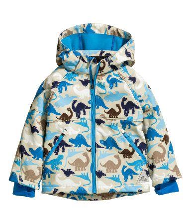 dinosaur softshell jacket
