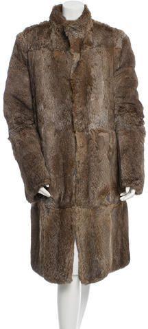 Gucci Reversible Fur & Ponyhair Coat
