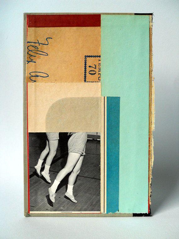 Original Abstract Composition on Book Cover - November Studios