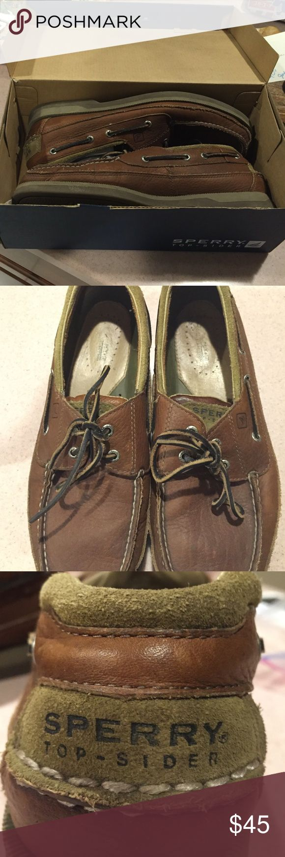Sperry Top Sider Boat Shoes Sperry Top Sider size 12 men's boat shoes. Worn a few occasions as illustrated in pictures. Feel free to inquire for any clarification! Sperry Top-Sider Shoes Boat Shoes
