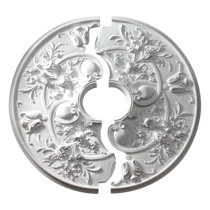 Ceiling Medallion Size For Ceiling Fan