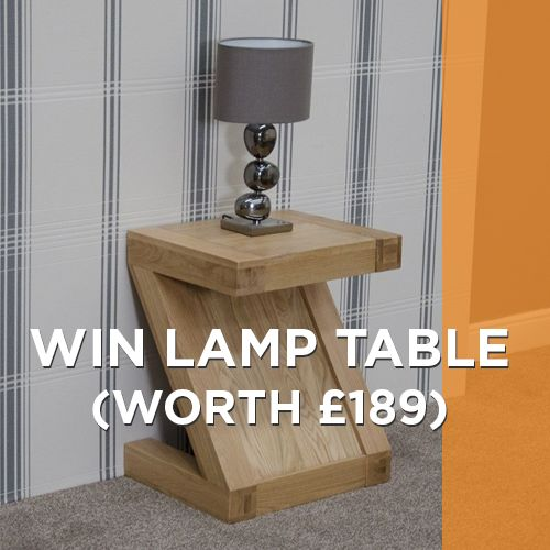 Win Solid Oak Lamp Table worth £189 or £50 #voucher! Complete #survey: http://www.oakfurnitureuk.co/sustainable-wood-furniture-survey/ 2 support #EarthDay2014 @Earth Day Network @Oak Furniture Company