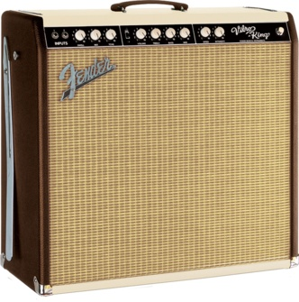 Limited Edition Vibro-King® Custom Chocolate Crème Two-Tone | Fender Guitar & Bass Amplifiers | Fender Amps