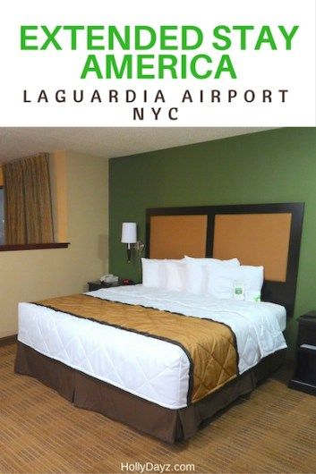 Extended Stay America LaGuardia Airport in NYC - HollyDayz Travel  @theextendedstay