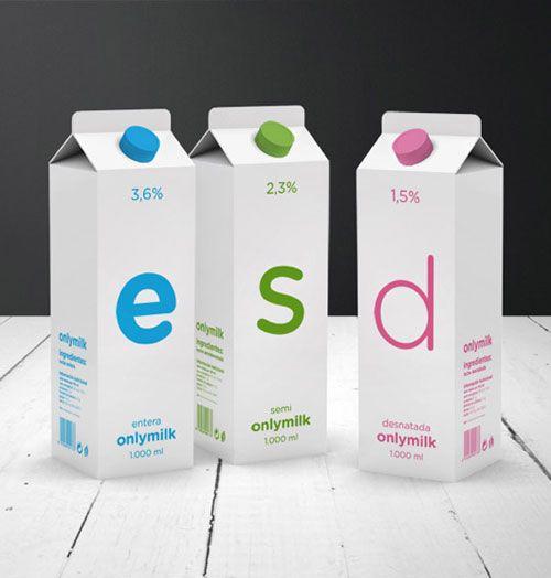 Onlymilk Package Design