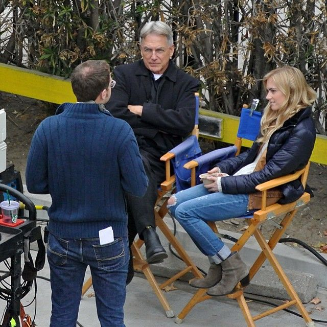 BTS Mark Harmon with Emily Wickersham - Google Search