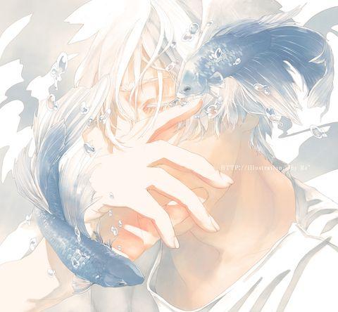 優しい湖 2015.08 「bloom」.003 描き下ろし作 4月7日までポストカード販売受付中(http://www.pixiv.net/member_illust.php