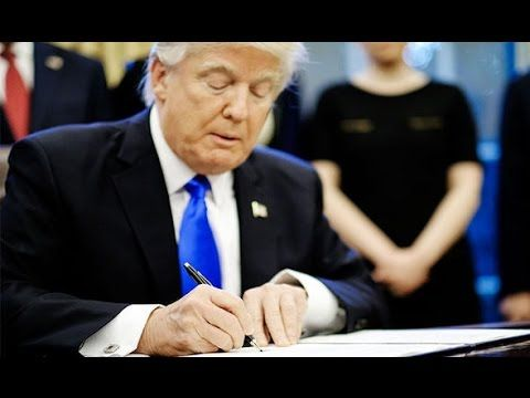 Donald Trump to sign executive order WITHDRAWING America from NAFTA trade bloc