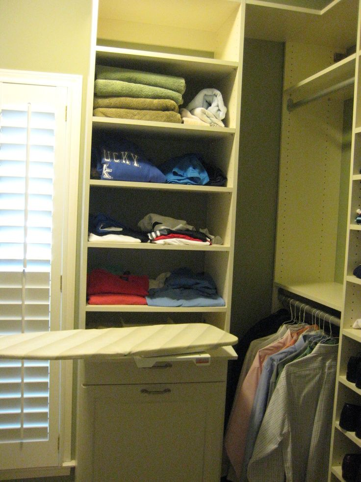 Beau Built In Ironing Board | Built In Ironing Board, Drawer And Hamper | Atlanta  Custom
