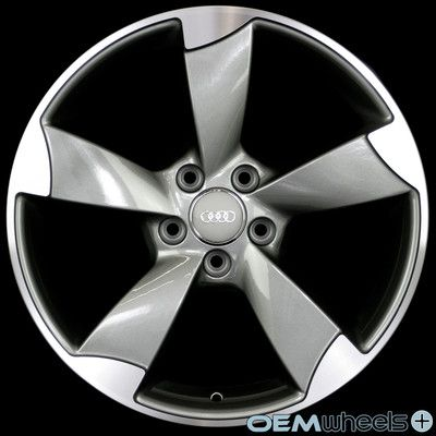 """18"""" GUNMETAL S-LINE STYLE WHEELS FITS AUDI A5 S5 RS5 B8 8T COUPE CABRIOLET RIMS 