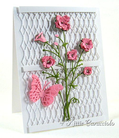 KC Memory Box Bella Bouquet by Kittie Caracciolo.  Love her work !!