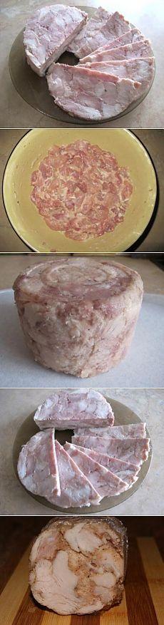 Ветчина куриная : Закуски и бутерброды